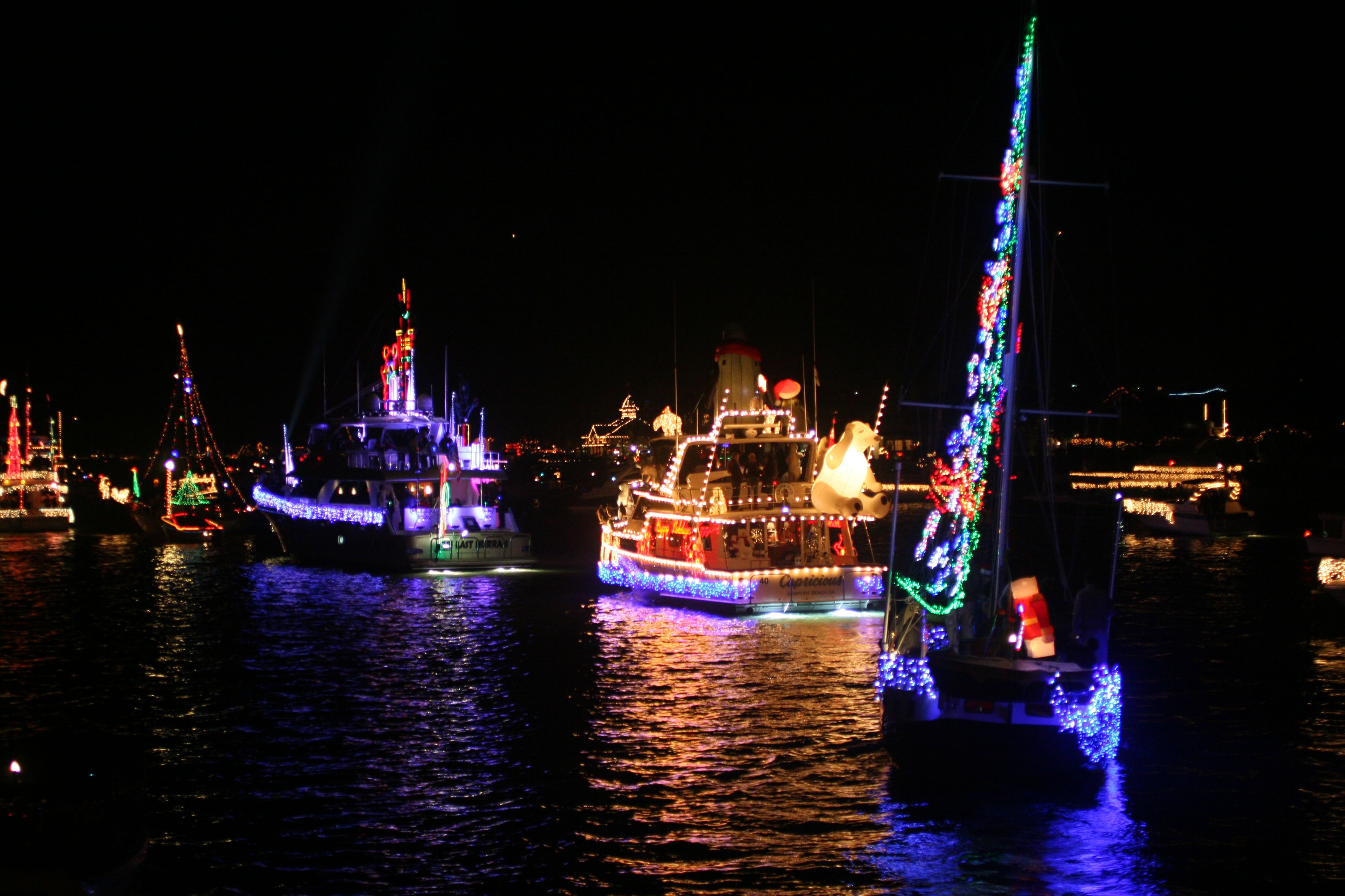 Naples Christmas Parade 2019 Christmas Boat Parades in LA and Orange Counties