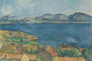 Paul Cézanne The Gulf of Marseilles
