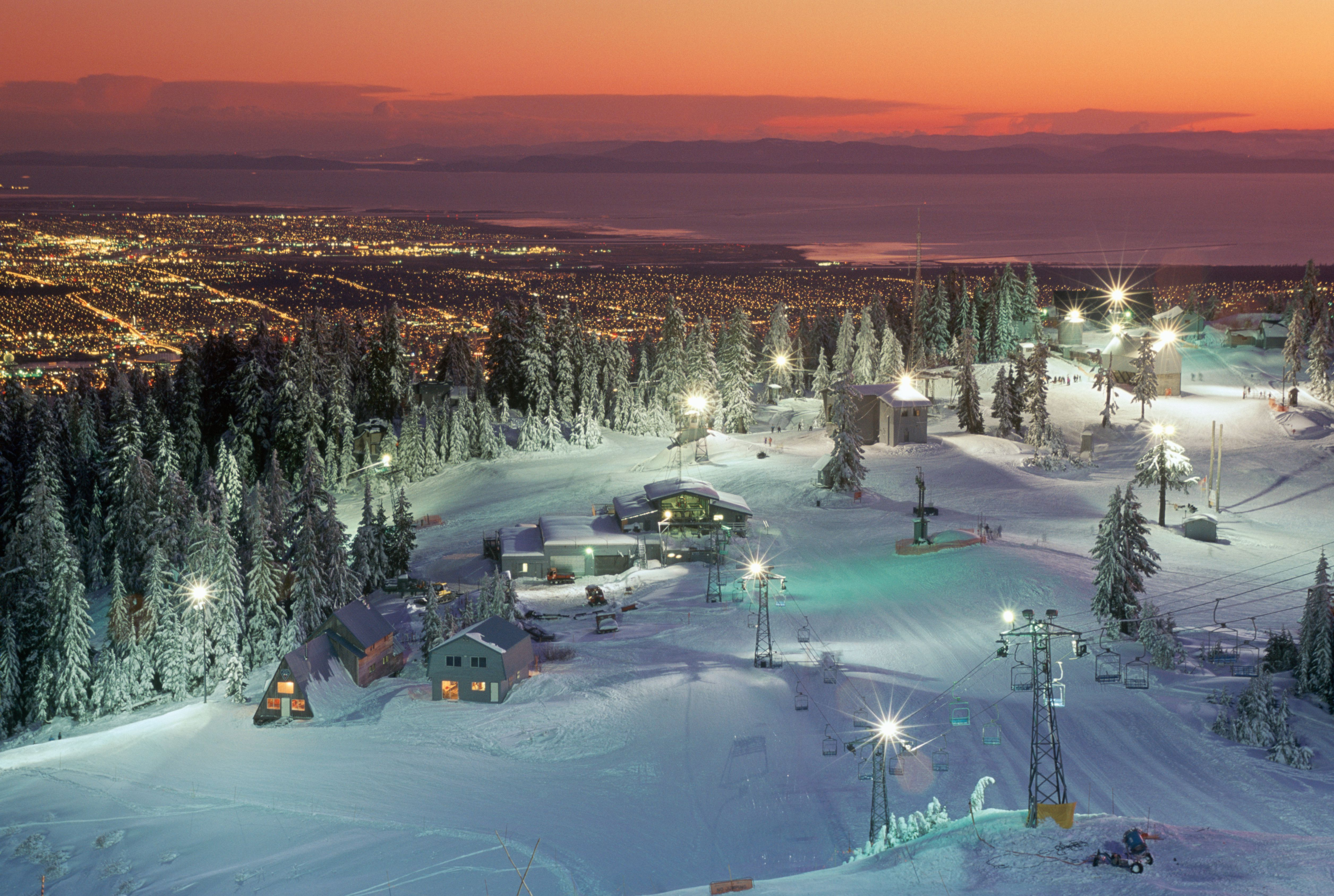 North Vancouver, Grouse Mountain, British Columbia