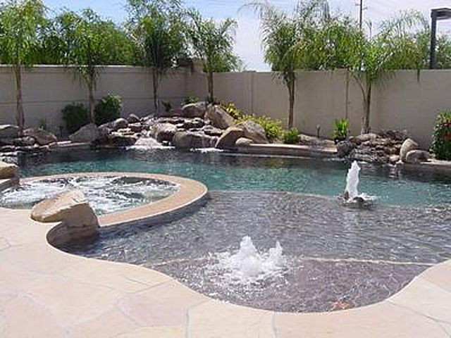Swimming Pools Come In A Variety Of Shapes And Sizes