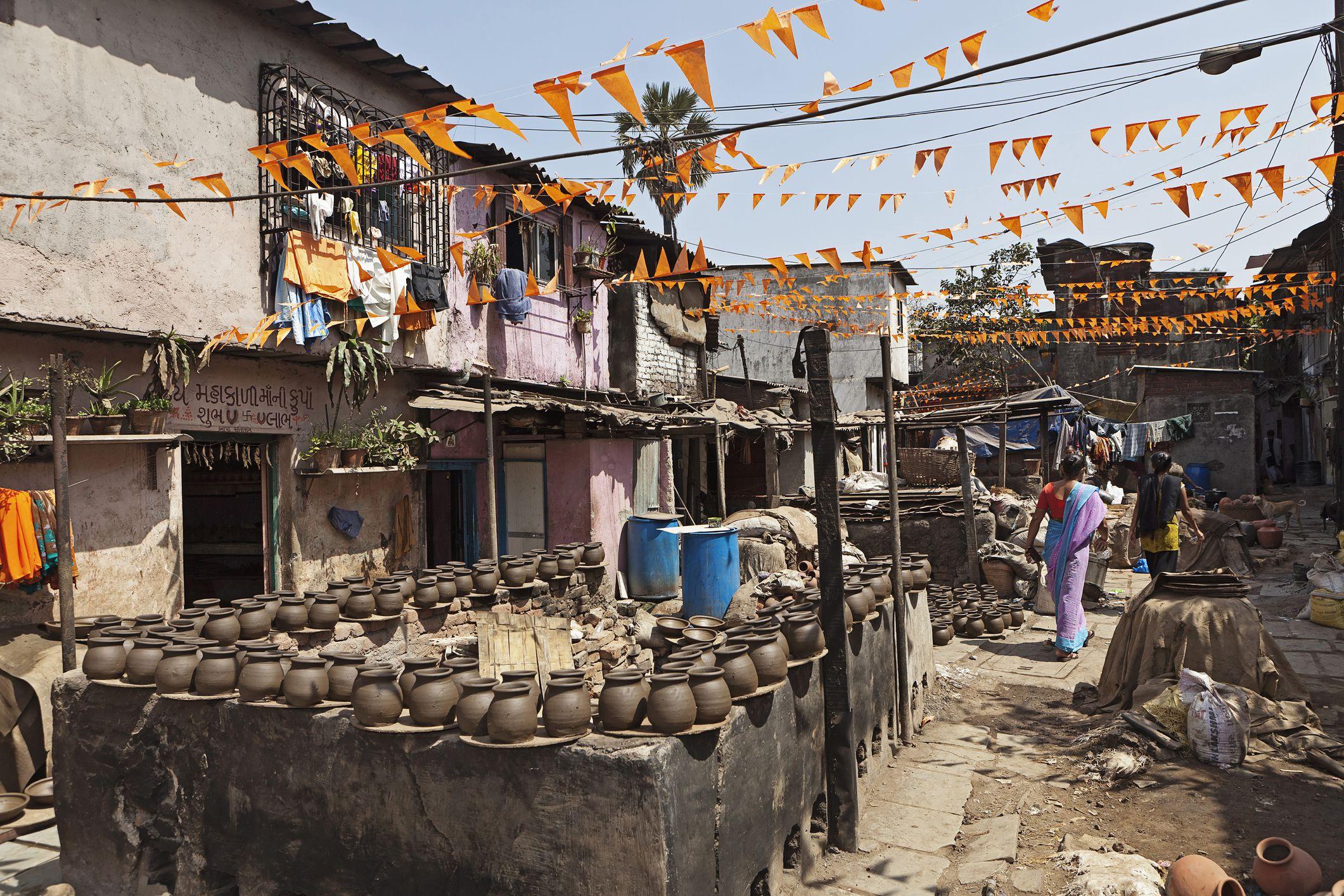 Pottery colony in Dharavi slum, Mumbai.
