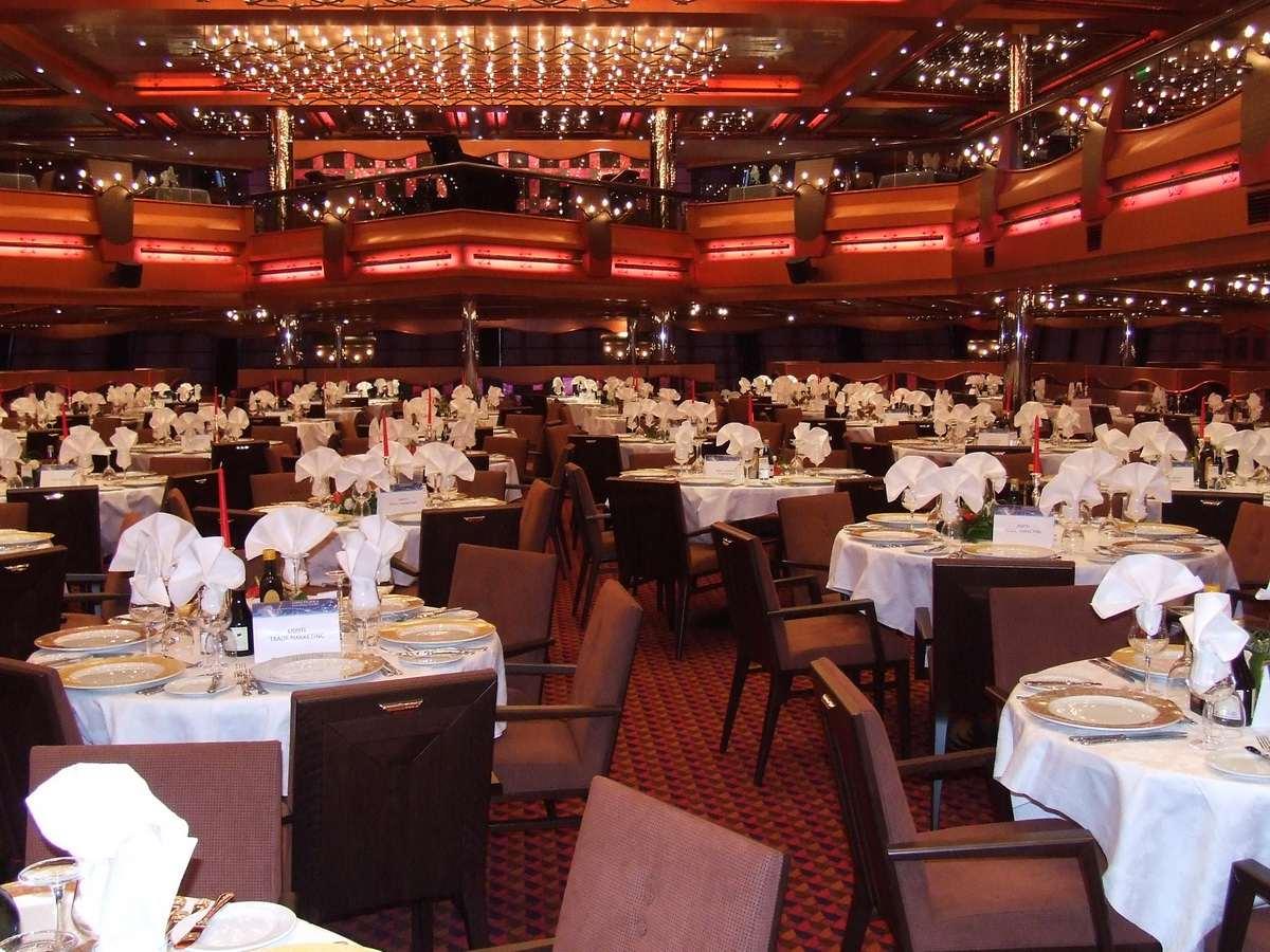 Costa Pacifica - Restaurante Nueva York, Nueva York