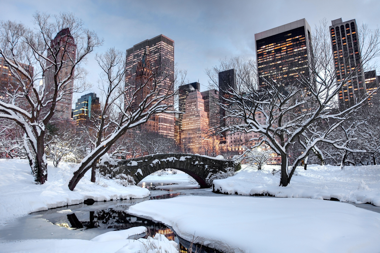 Invierno en la ciudad de Nueva York