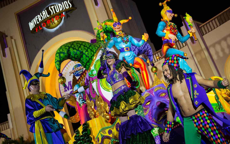Mardi Gras at Universal