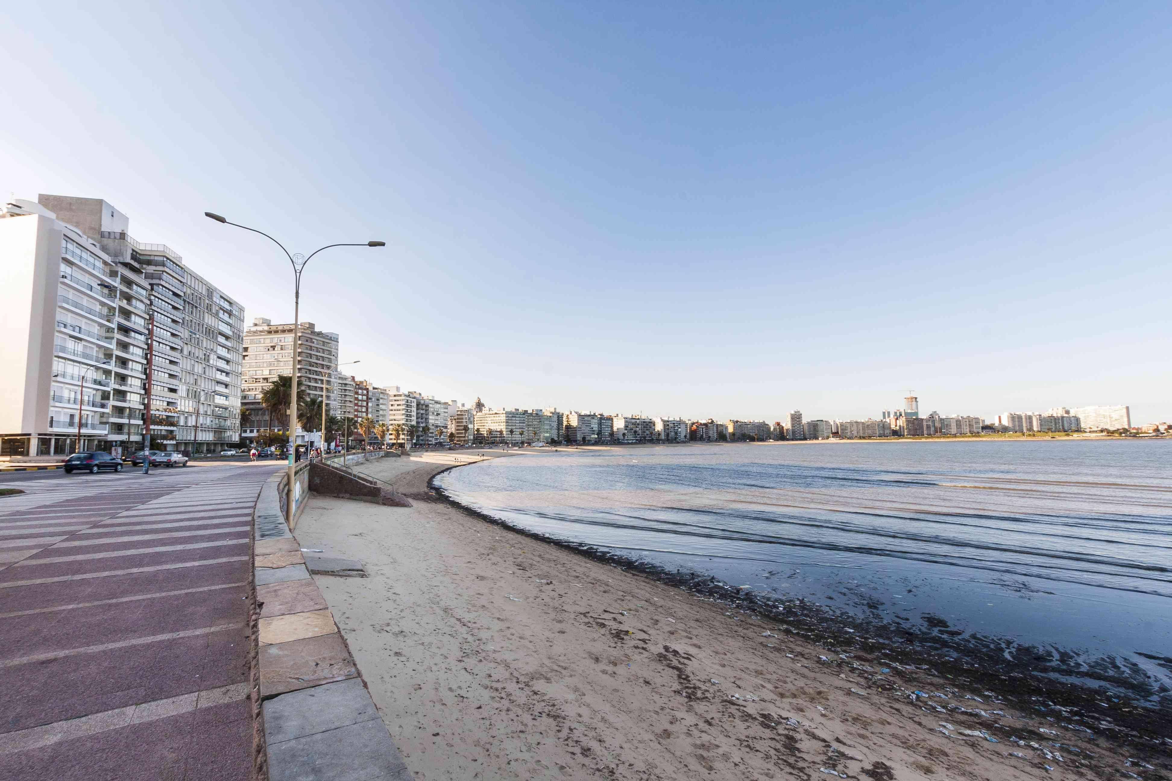 Rambla in Montevideo