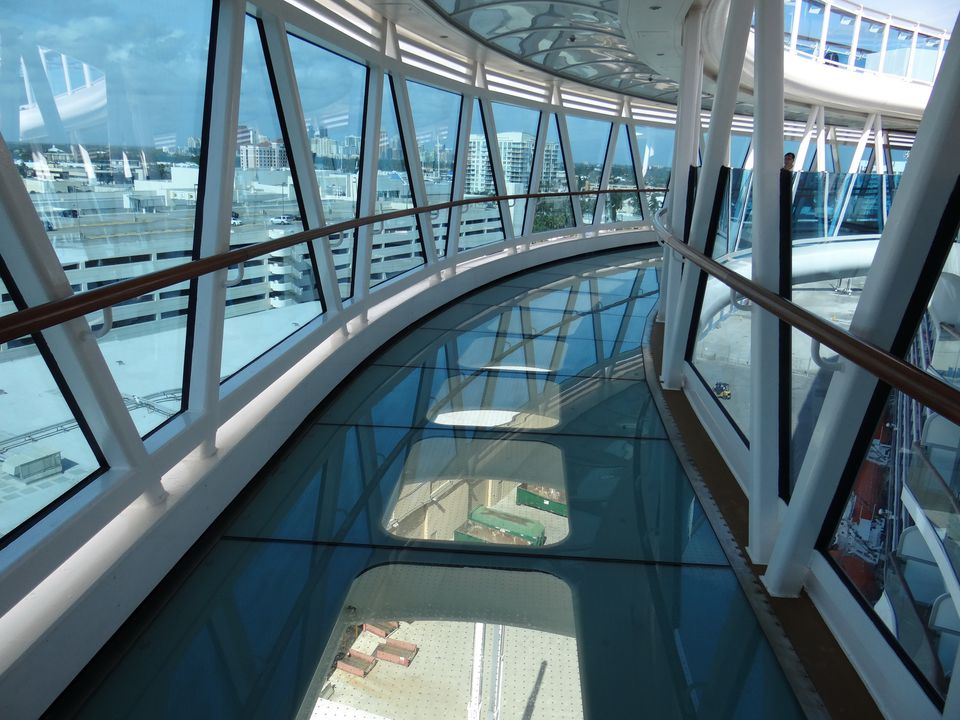 The SeaWalk on the Regal Princess