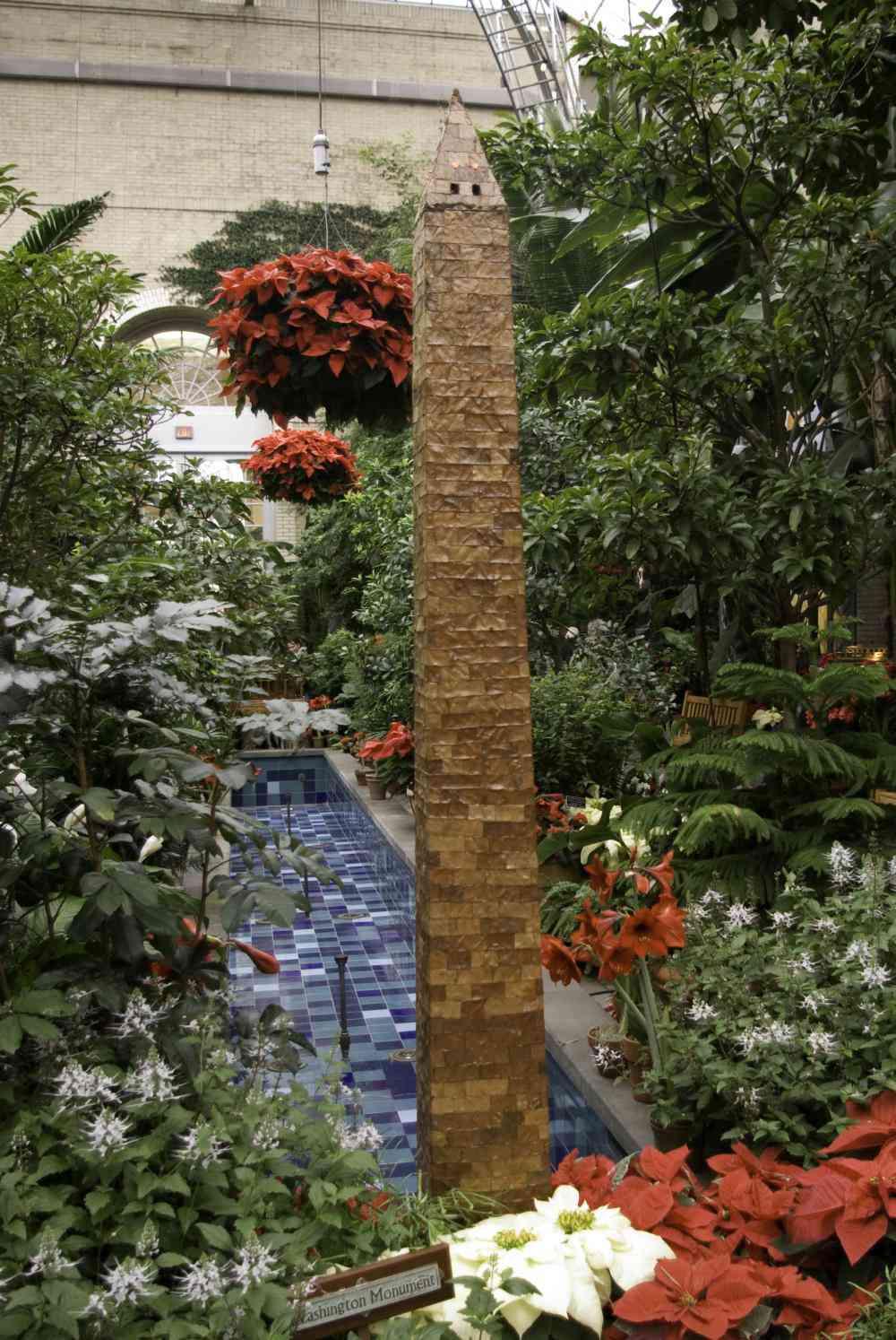 U.S. Botanic Garden Christmas Display: Washington, DC