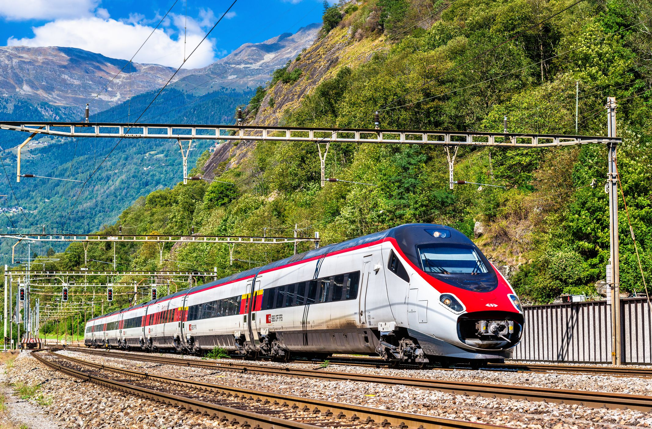 Taking the Train Between Italy and Switzerland