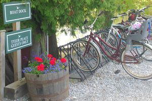 Tyler Place bicycles included in rate
