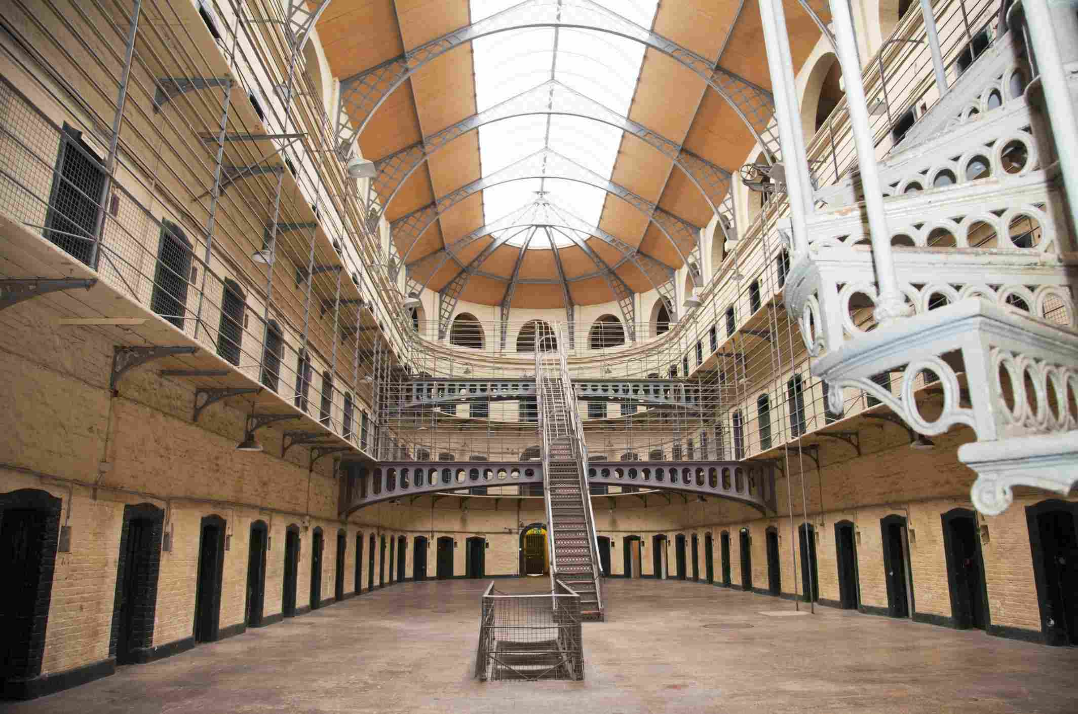 Interior of Kilmainham Gaol