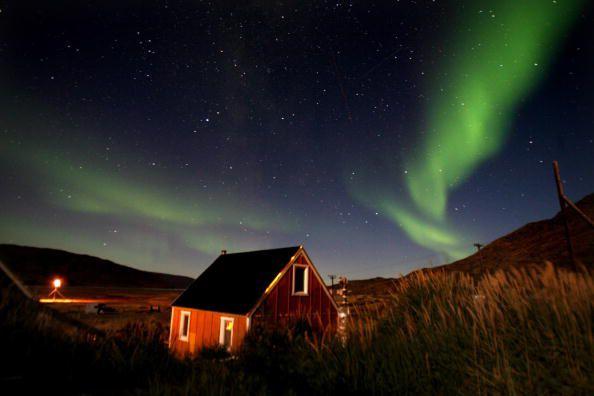 Northern Lights in Kangerlussuaq, Greenland