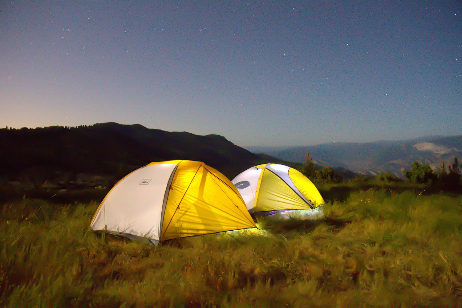 Camping In Sequoia National Forest
