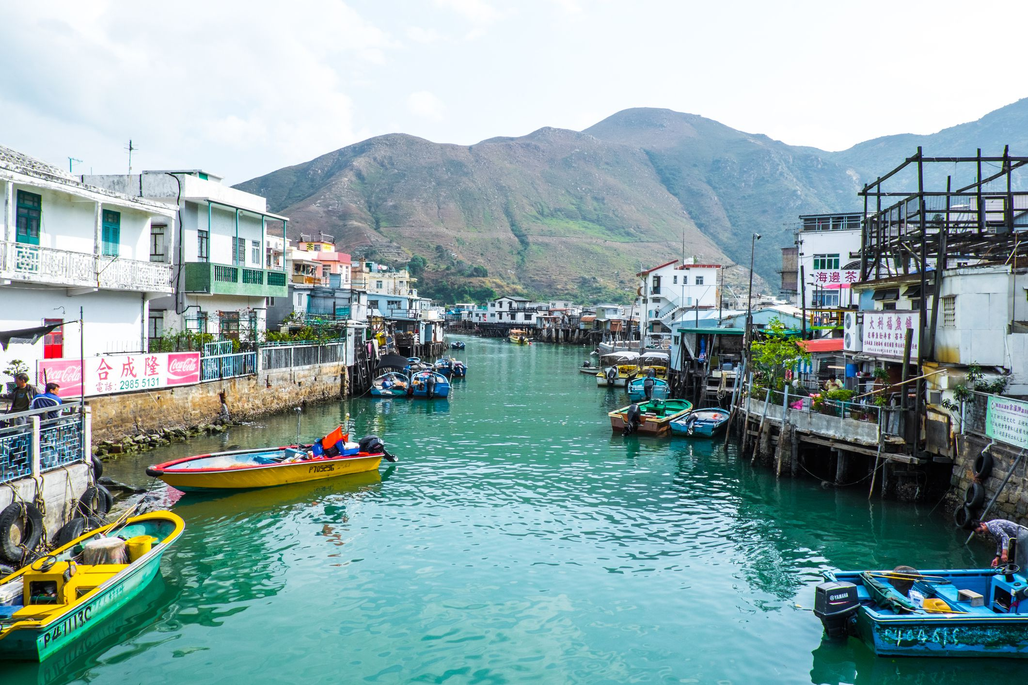 Image result for tai o fishing village
