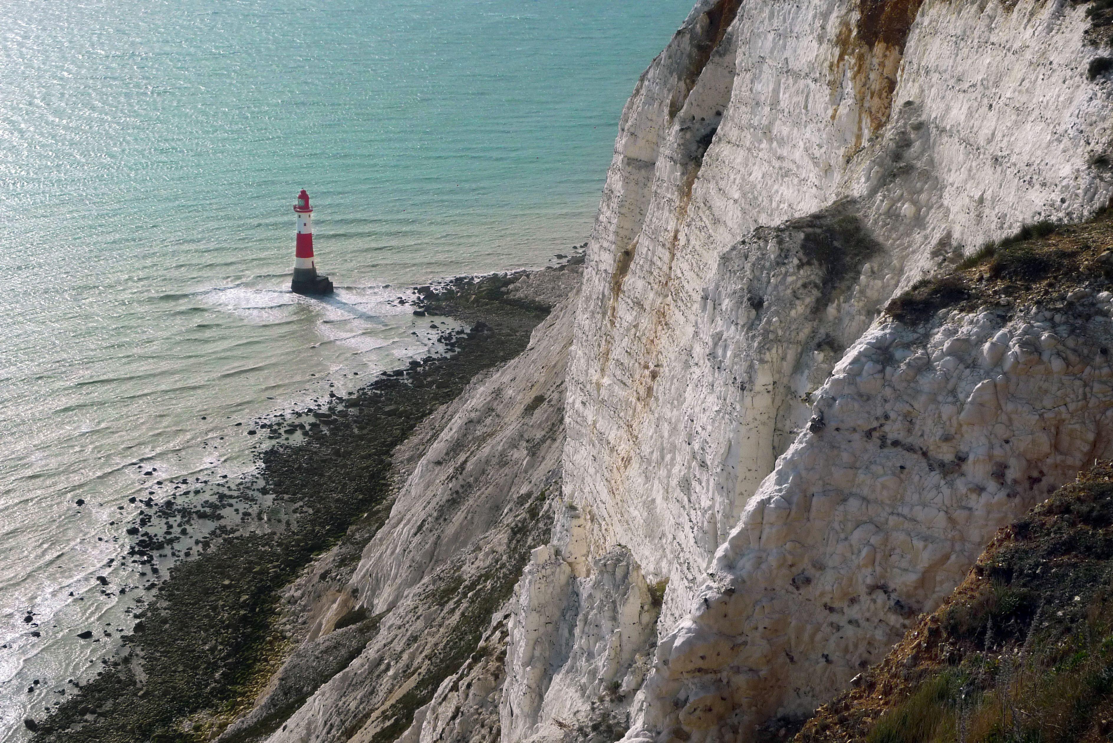 Beachy Head and lighthouse