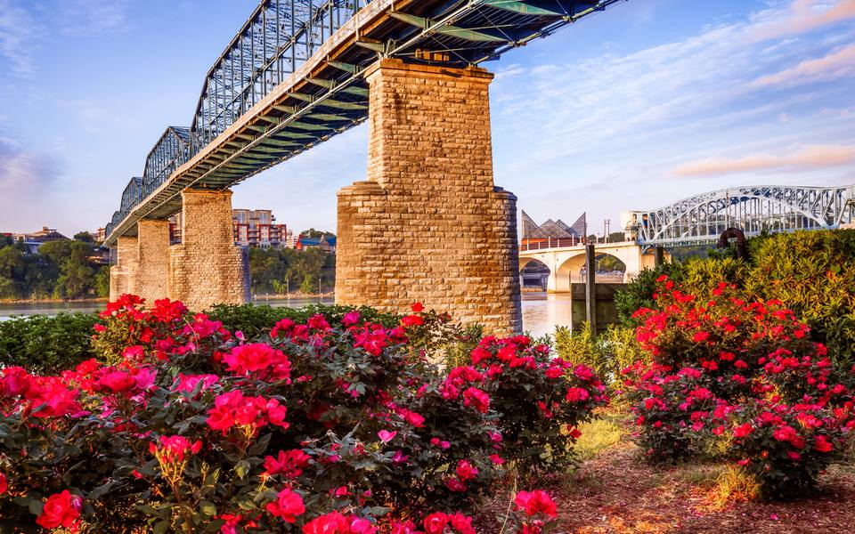 Walnut Street Bridge, Chattanooga, Tennessee