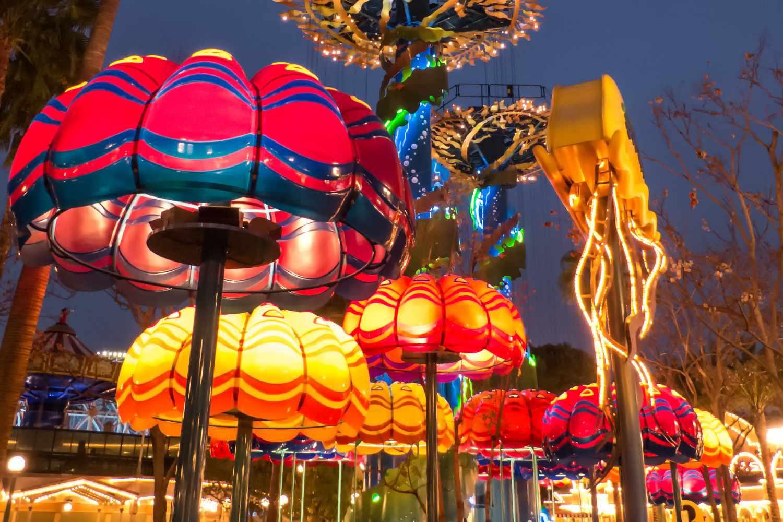 Jumpin' Jellyfish at Night