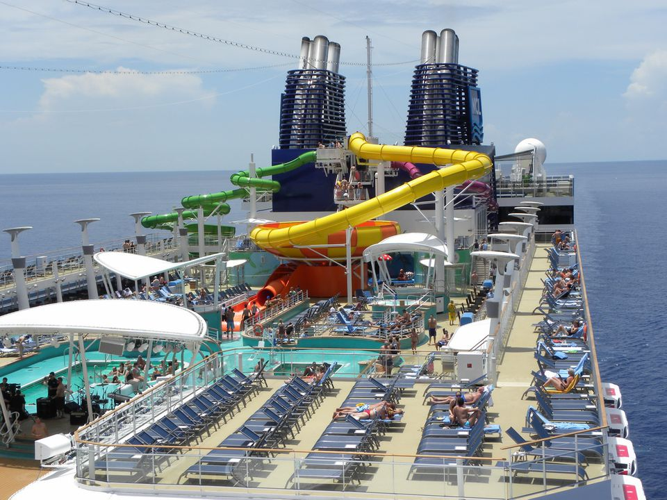 Norwegian Epic - Aqua Park and Pool Deck