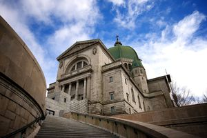 Montreal oratory Oratoire Saint-Joseph is arguably the most imposing structure in the city.