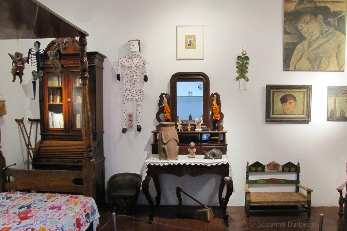 Frida Kahlo's Bedroom