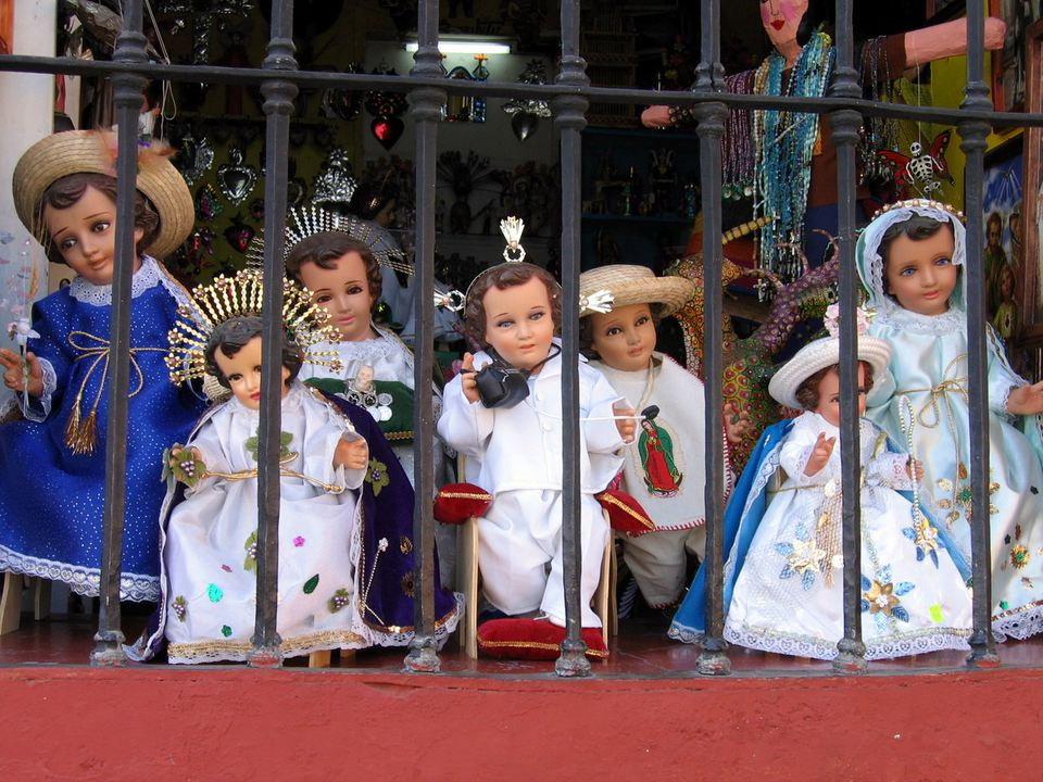 Christ Child for Candlemas celebrations
