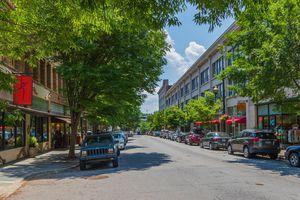 Haywood Street, Asheville, NC, USA