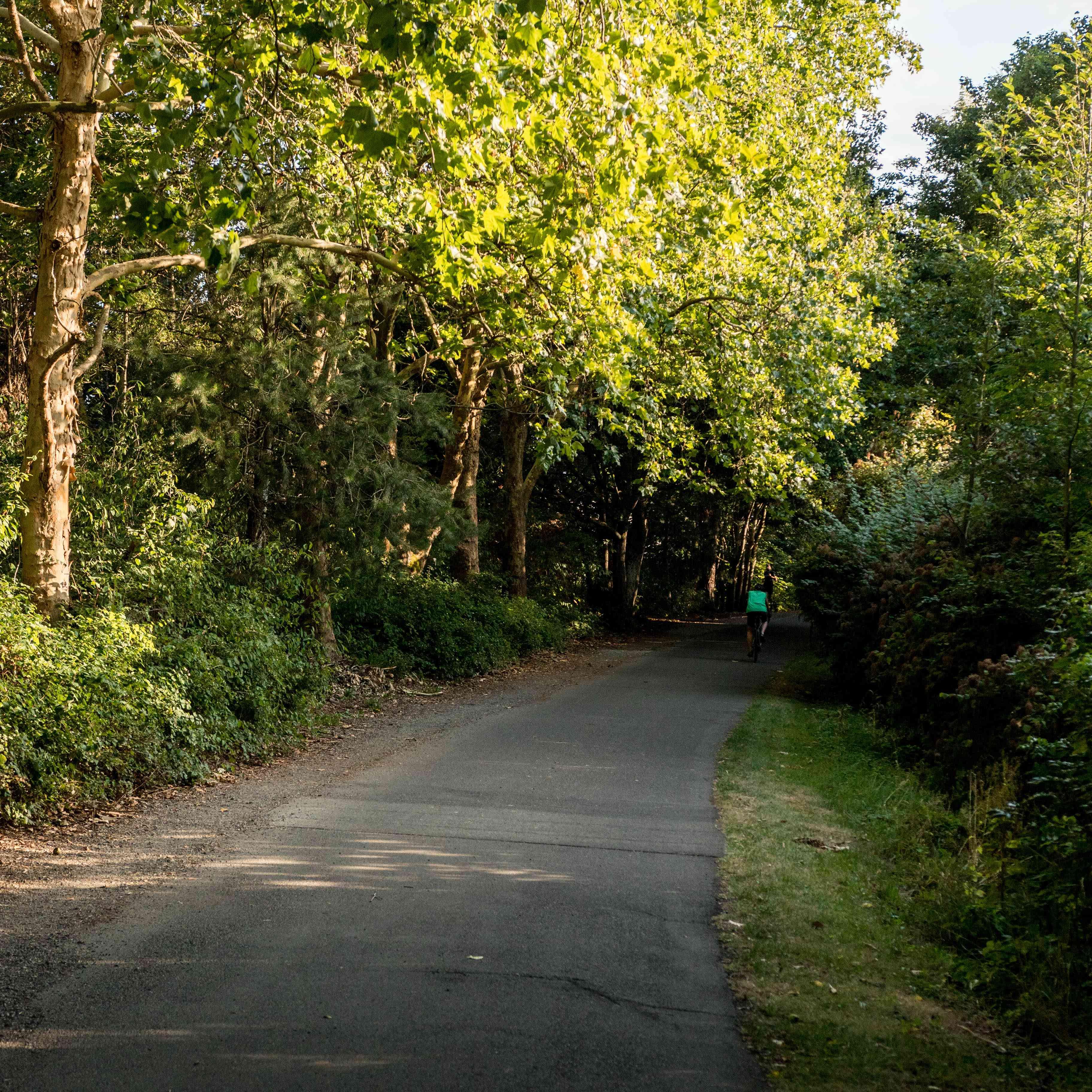 Burke-Gilman Trail in Seattle, Washington