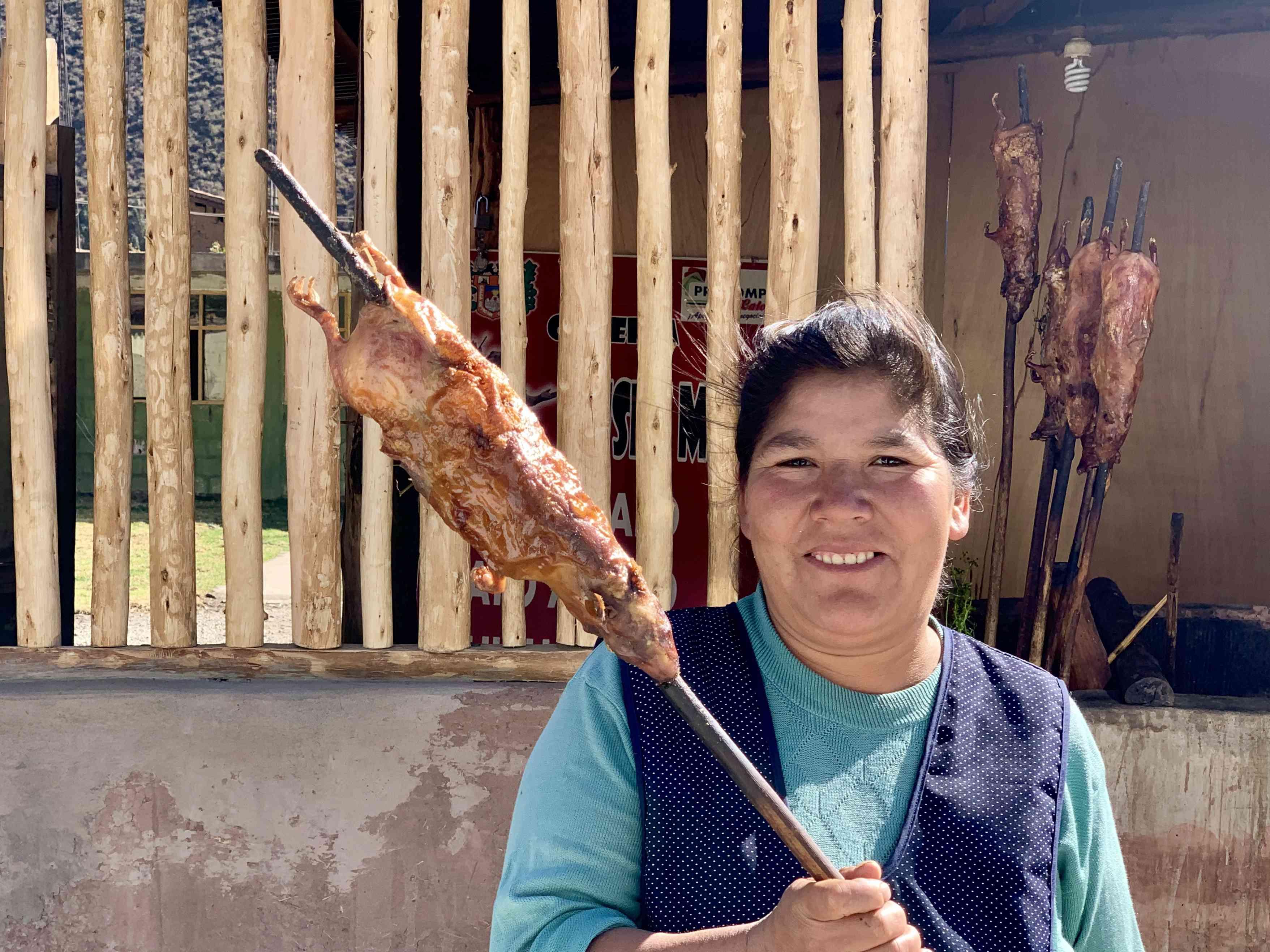 Cuy, a Peruvian delicacy