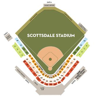 Seating Chart For Maryvale Baseball Park And Brewers