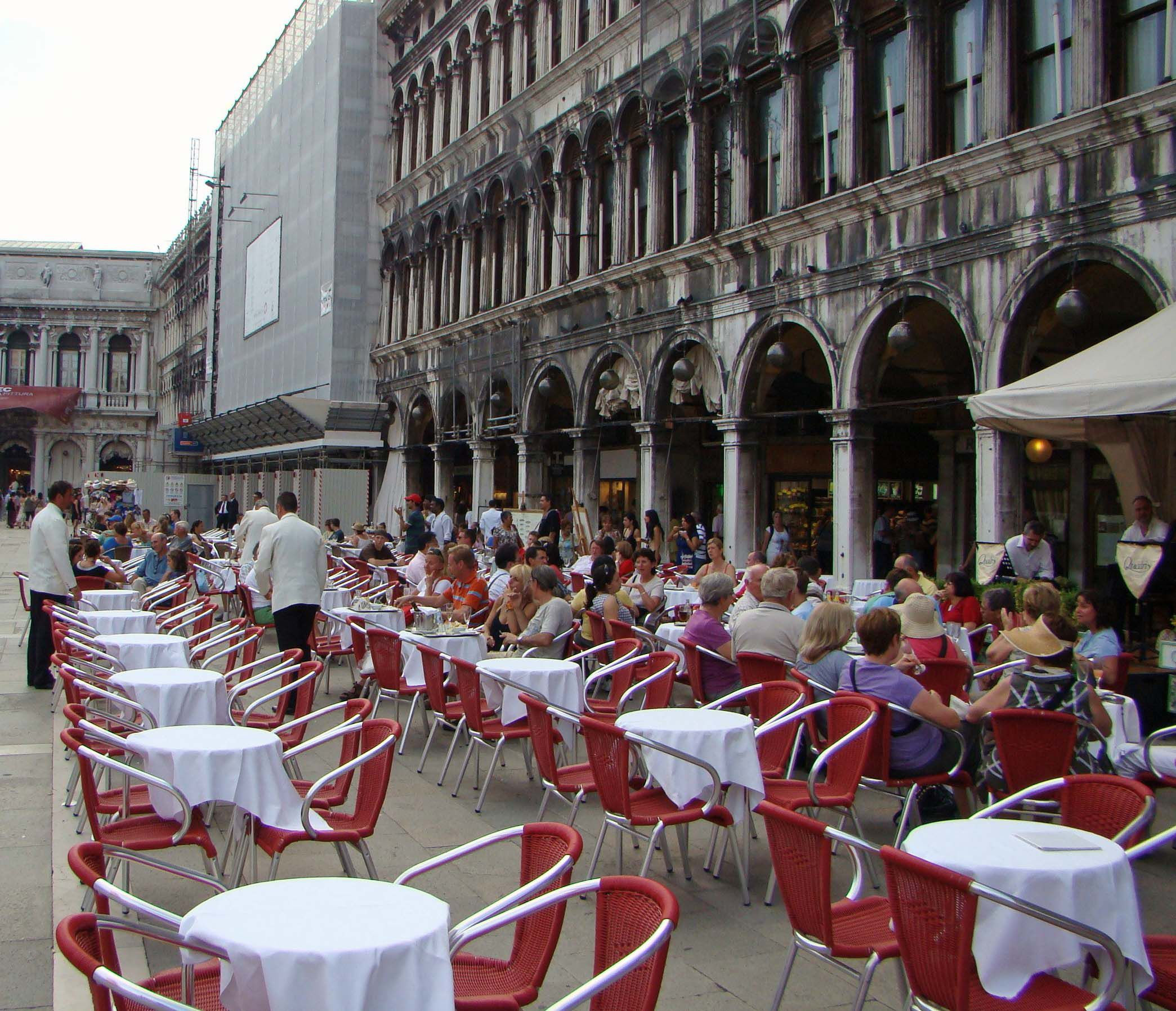 When dining in Venice, Italy, try to avoid high-traffic tourist areas.