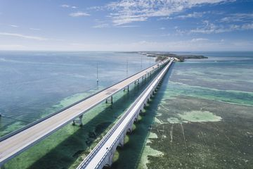 Seven Mile Bridge in Florida Keys