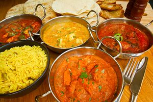 Indian curries.