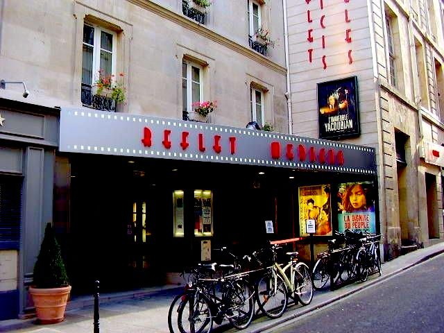 The Reflet Medicis cinema in Paris