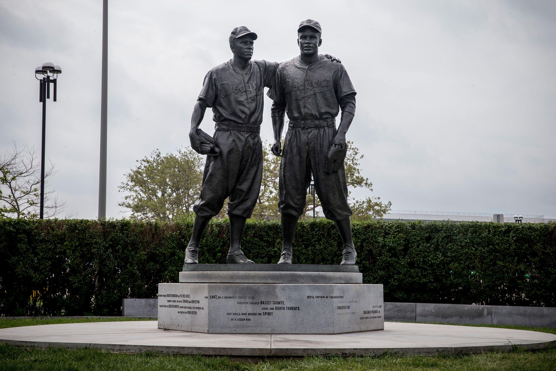 Estatua de Jackie Robinson en Brooklyn, Nueva York