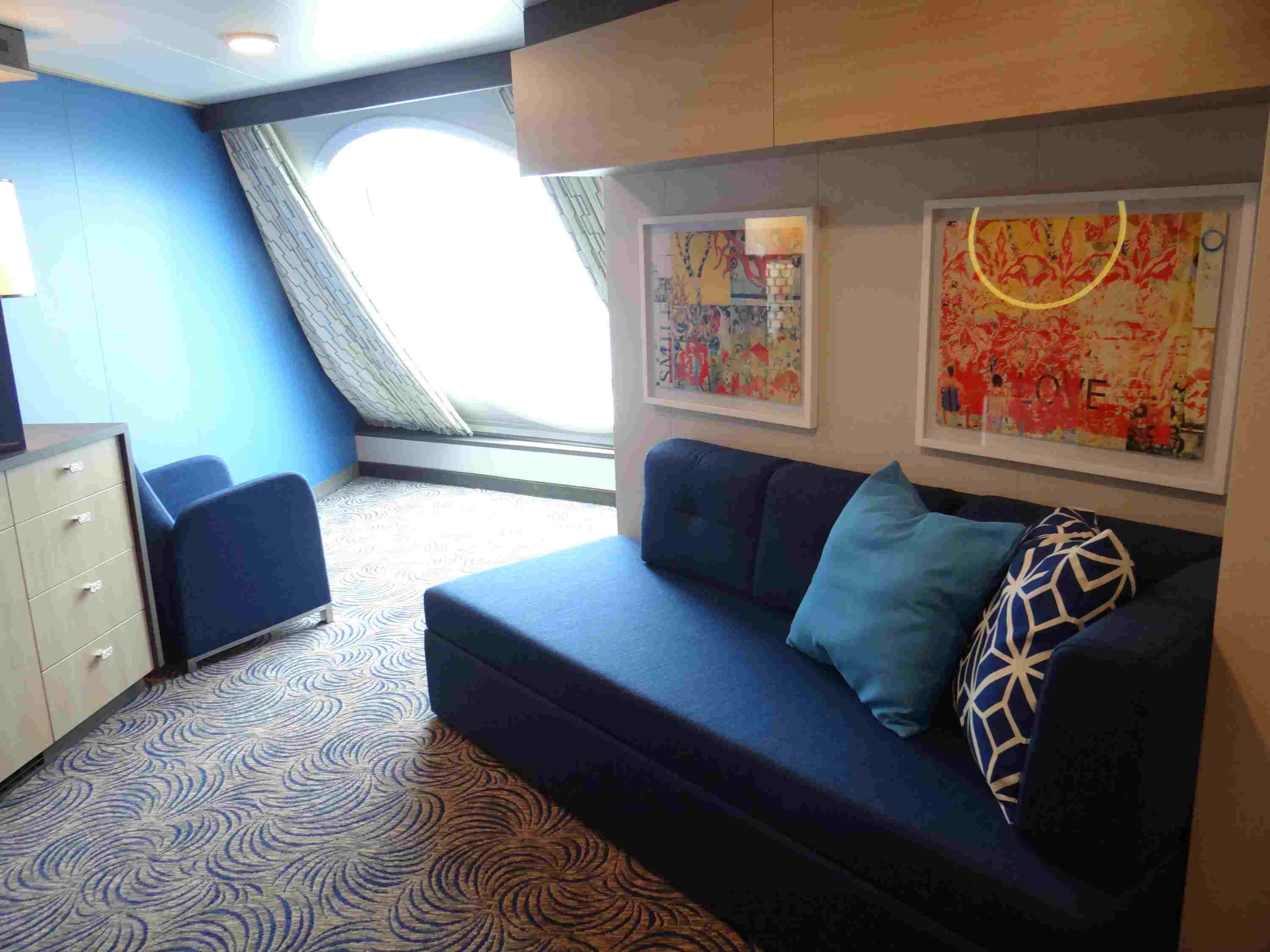 Quantum of the Seas Cruise Ship Cabins and Suites