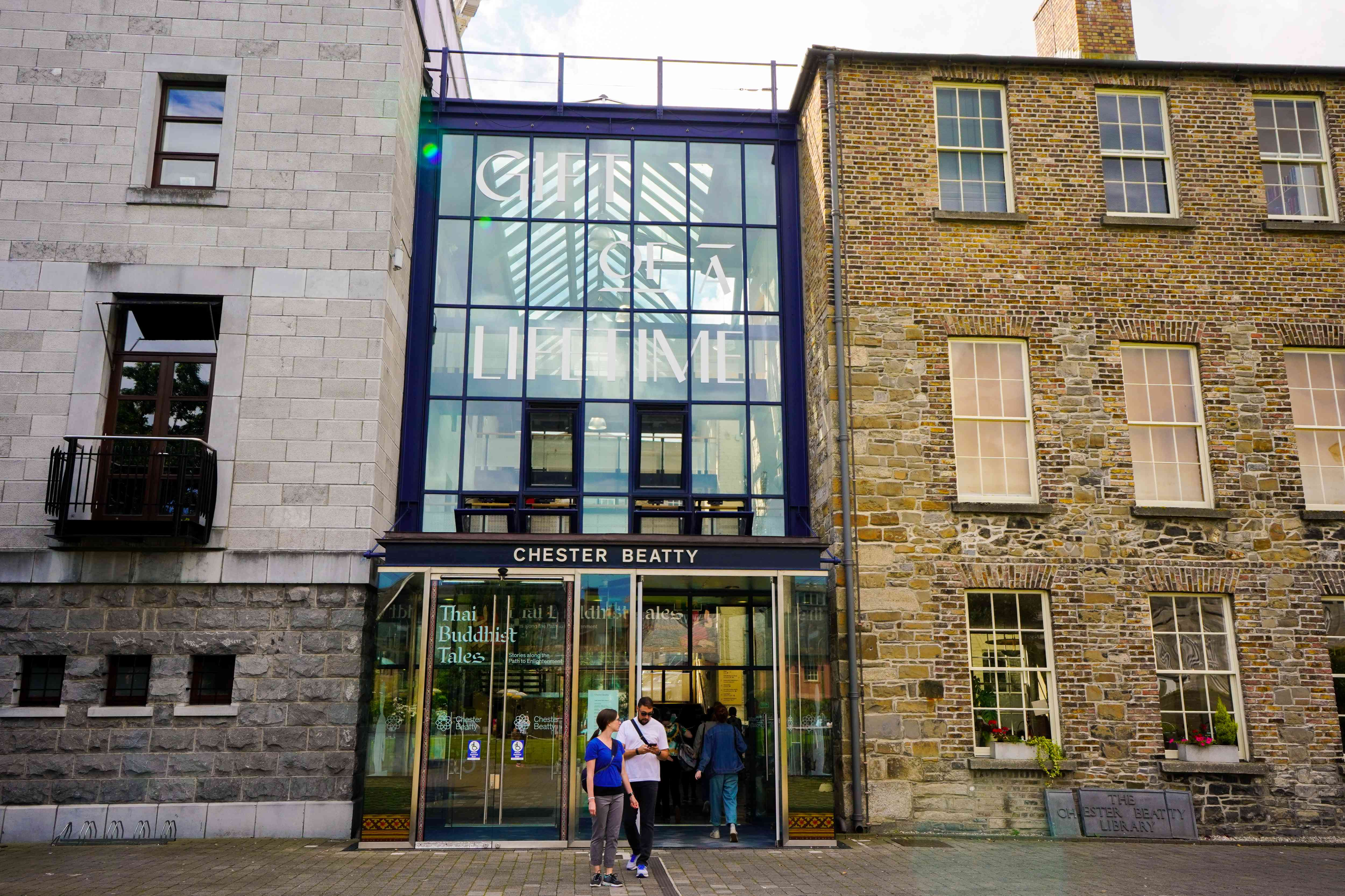 Chester Beatty Library in Dublin, Ireland
