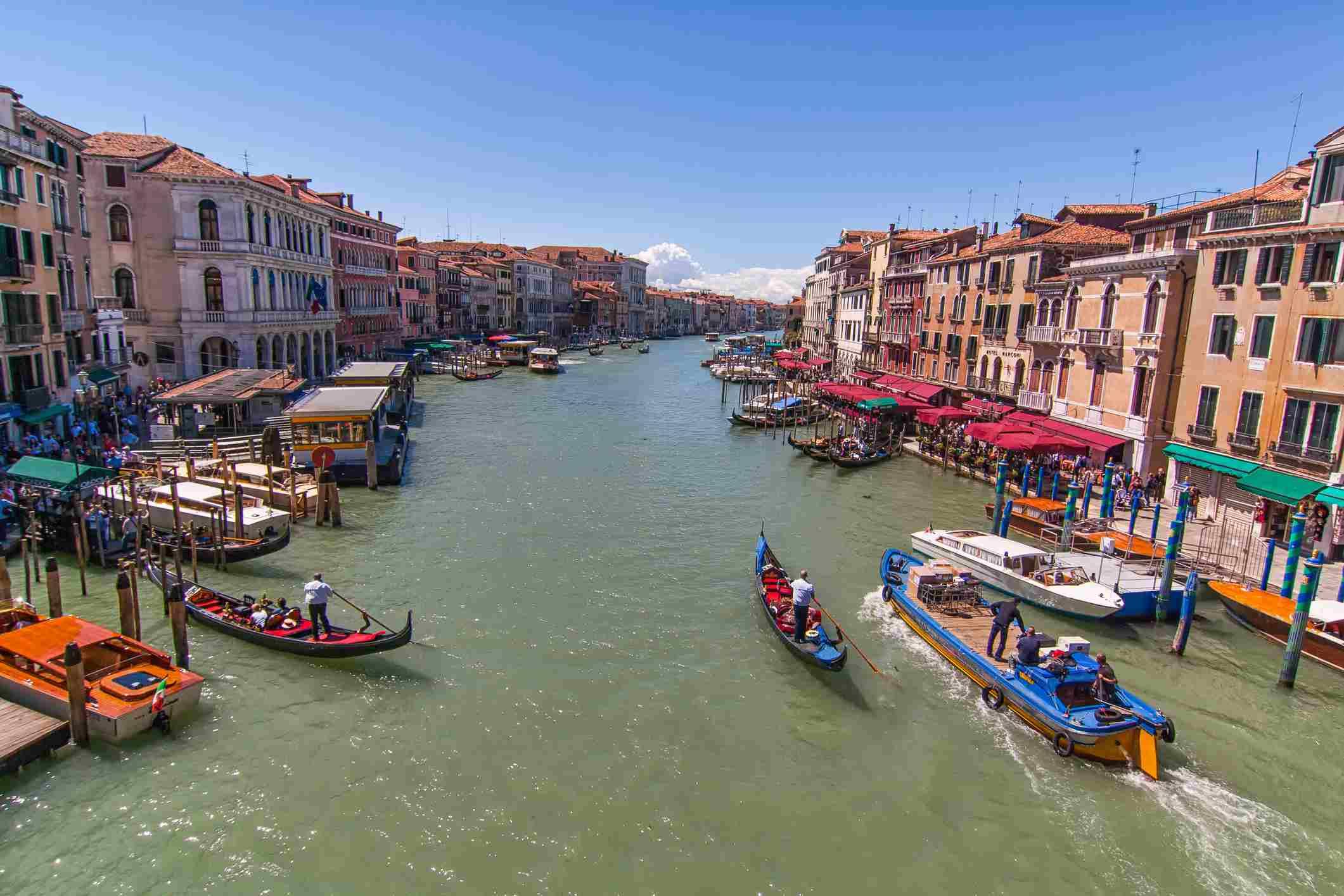 Grand Canal by Gondola