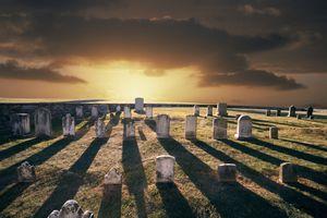 Cemetery at Antietam National Battlefield