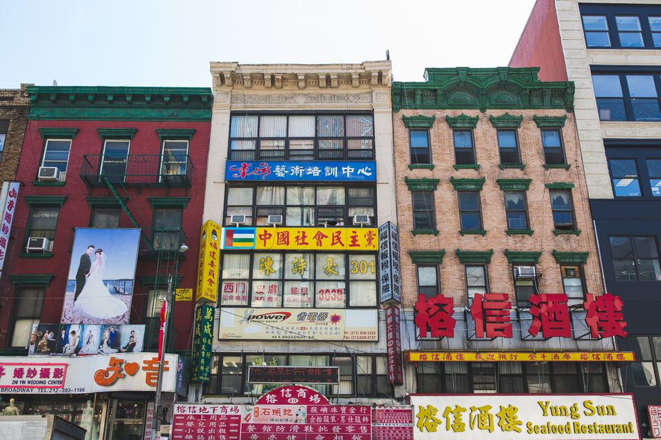 Barrio chino de Manhattan, Nueva York