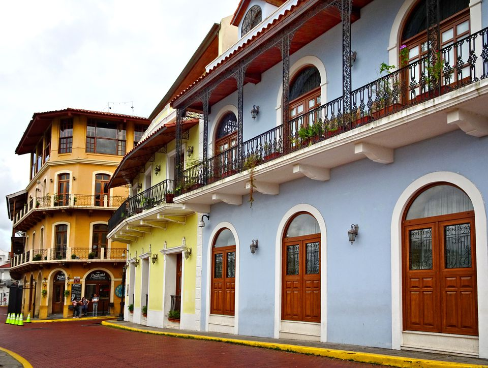 Colonial architecture in the Old District, Panama City