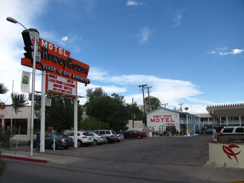 Hiway House Motel on Central Avenue, Albuquerque New Mexico