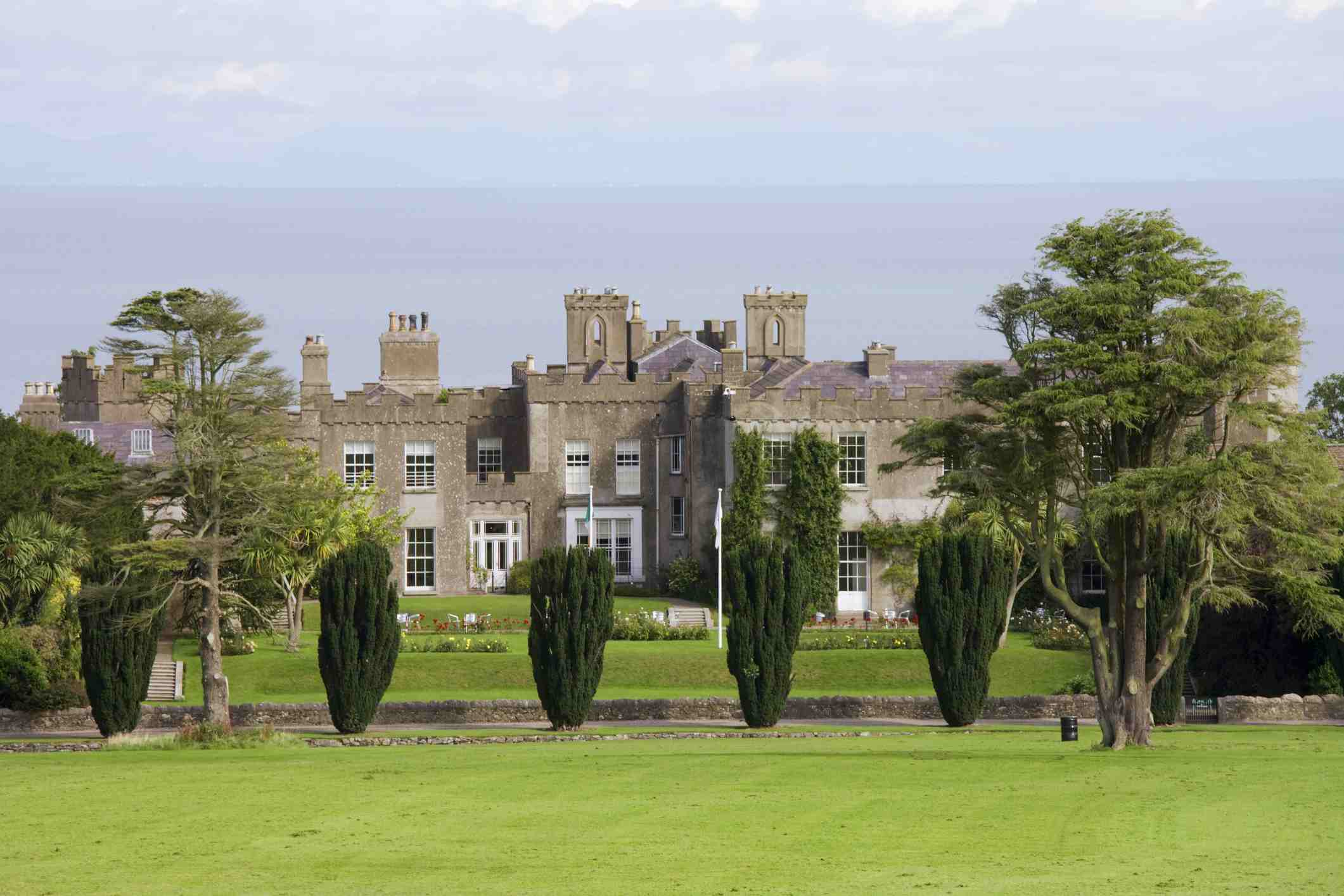 Ardgillan Castle seen from grounds