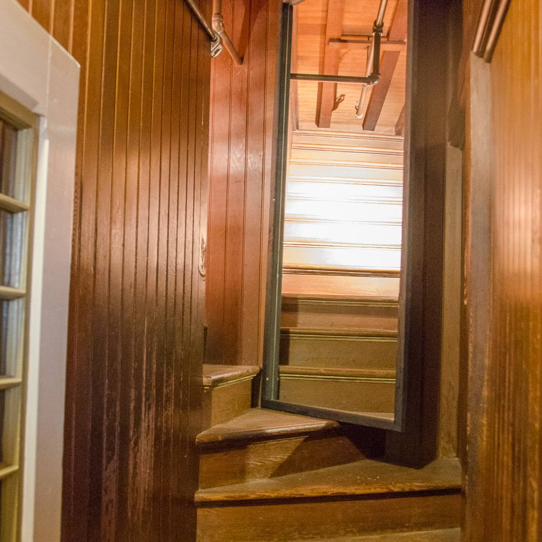 Winchester Mystery House Hallway to Nowhere