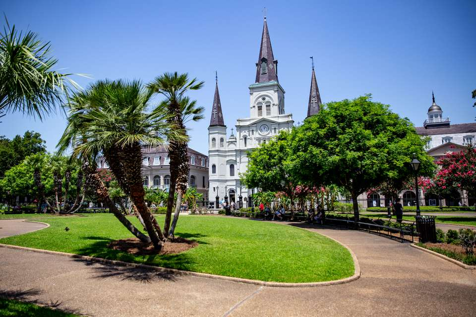 Square in French Quarter