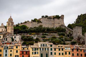 Andria Doria Castle in Porto Venere, Italy