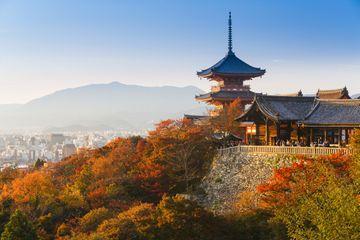 Japan, Honshu, Kansai region, Kiyomizu-Dera Temple