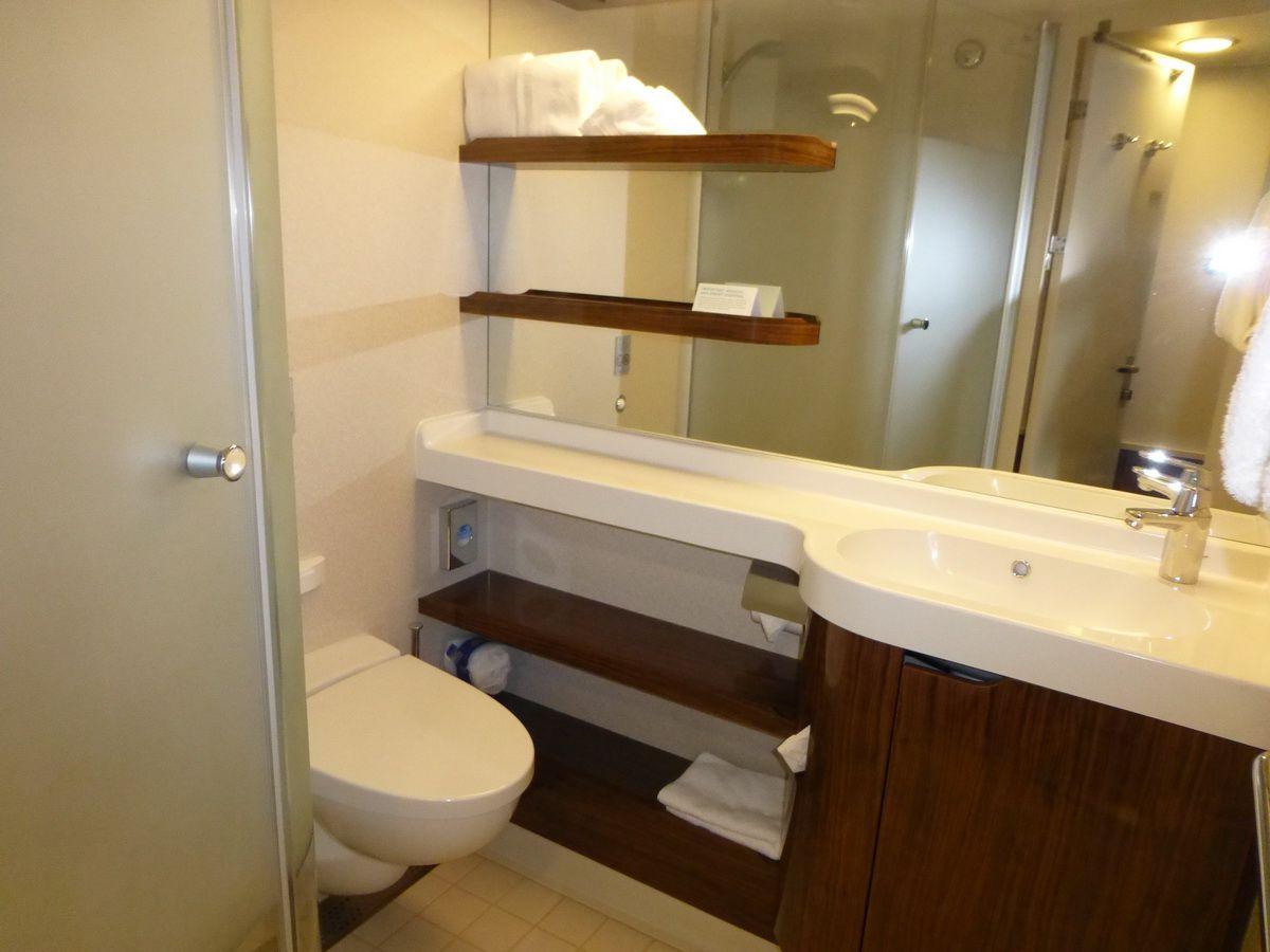 Norwegian Breakaway Balcony Cabin Bathroom Vanity
