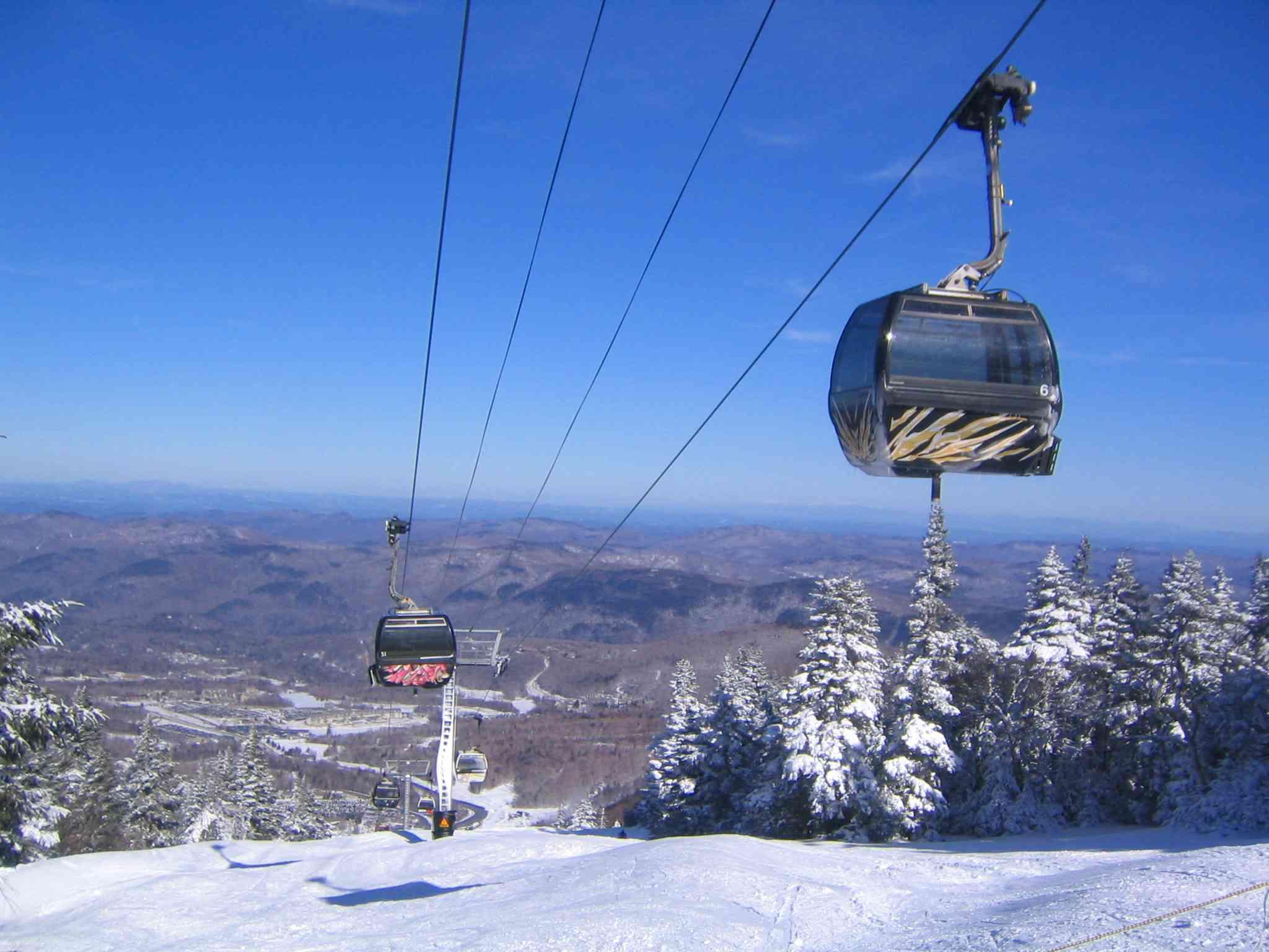 Killington Ski Resort Gondola Chairlift