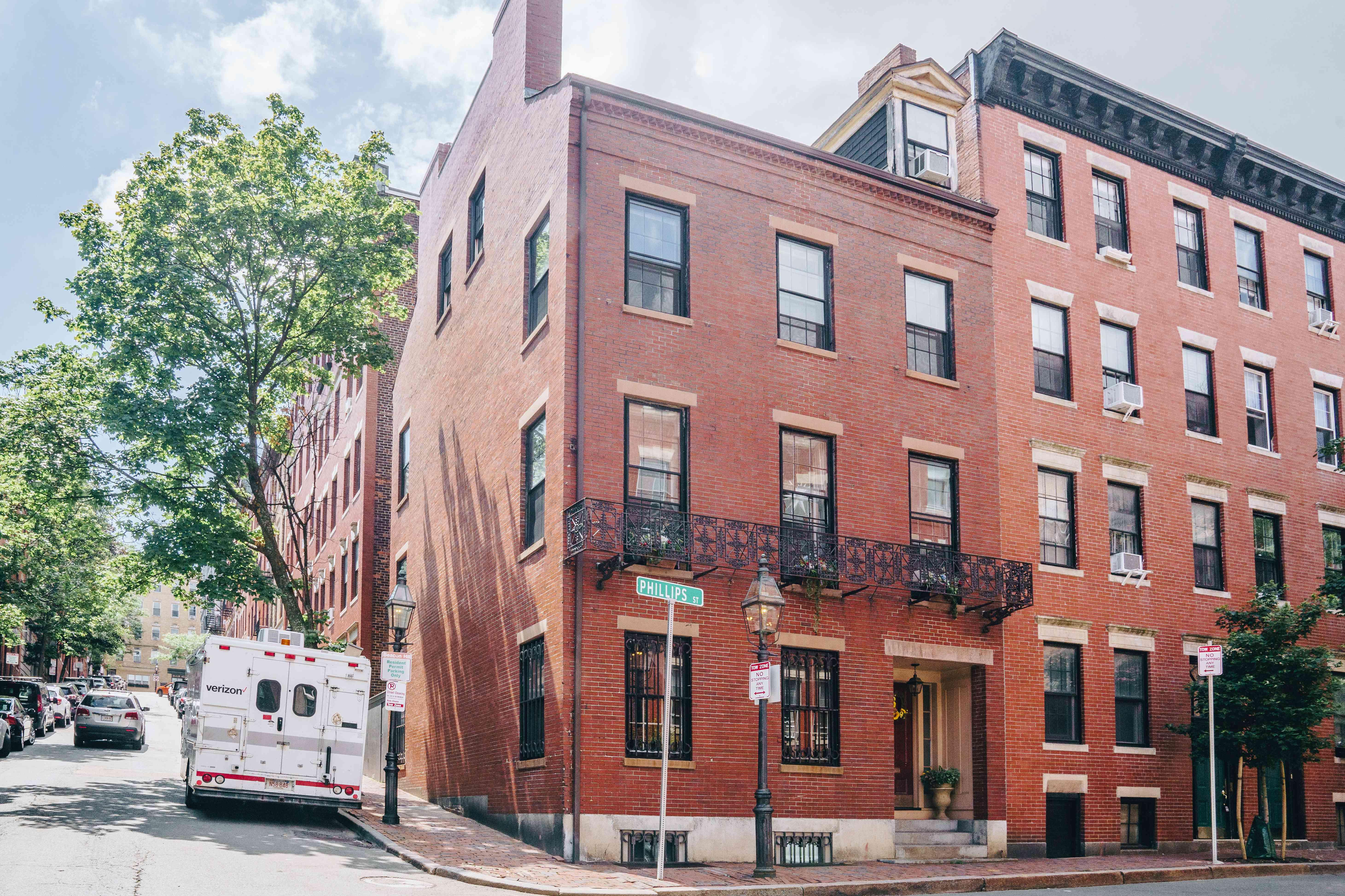 John Coburn house in Beacon Hill on the Black Heritage Trail in Boston