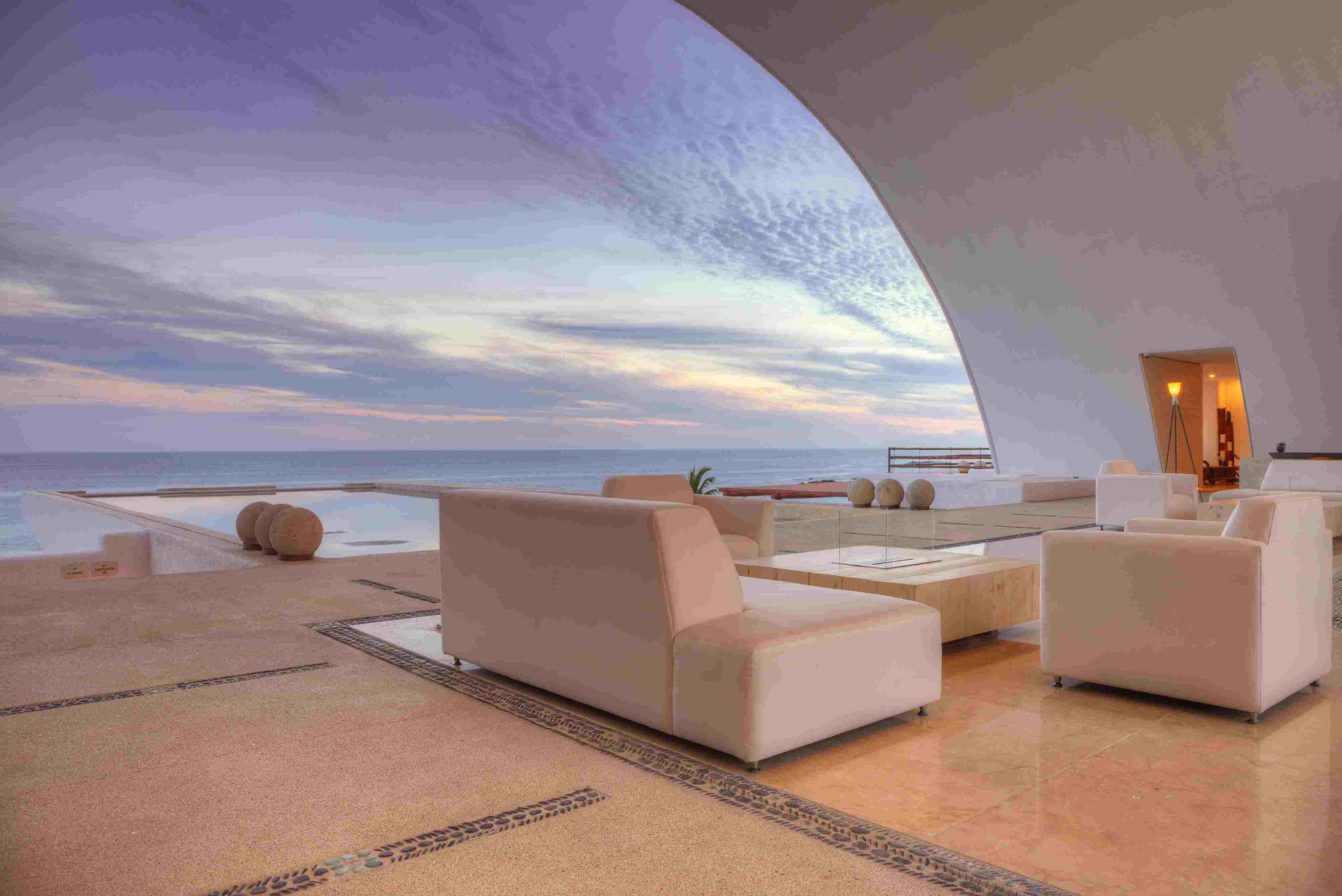 The Lobby at Marquis Los Cabos
