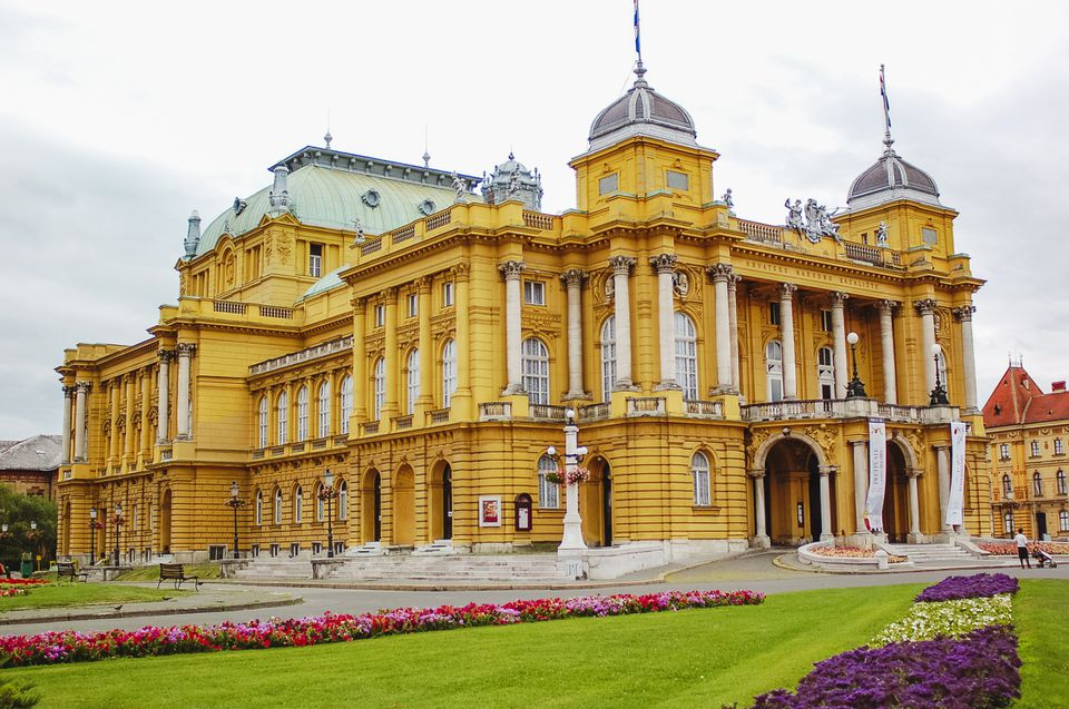 National Theatre in Zagreb